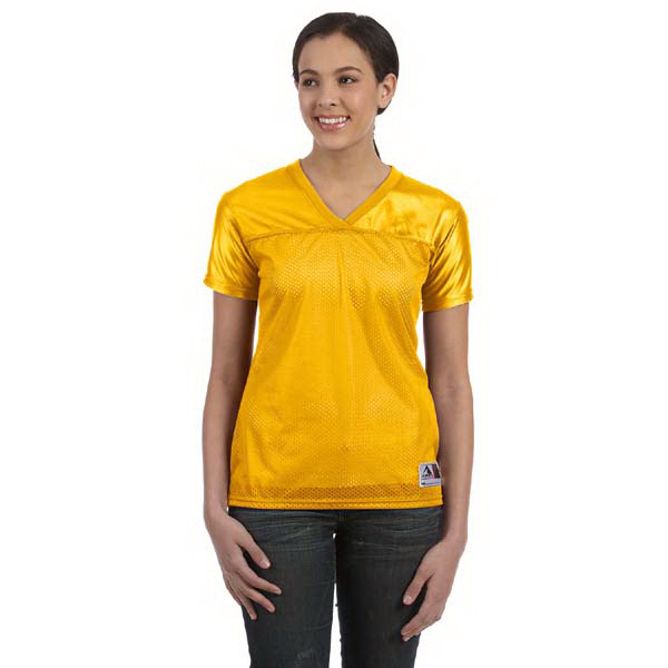 Customized Augusta Sportswear Ladies' Junior Fit Replica Football Tee