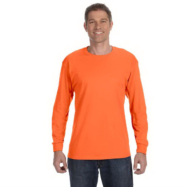 Promotional 5.6 oz 50/50 Heavyweight Blend long sleeve t-shirt