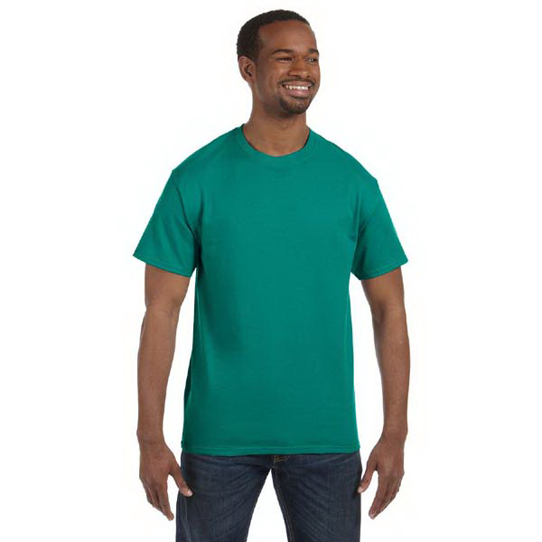 Custom Jerzees 5.6 oz., 50/50 Heavyweight Blend T-Shirt