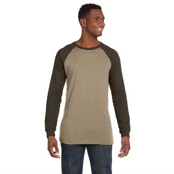 Custom Men's 4.2 oz. Jersey Long-Sleeve Baseball T-Shirt