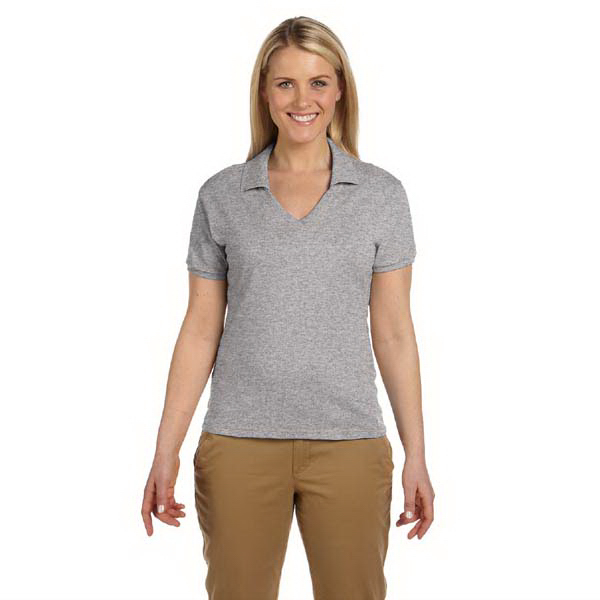 Customized Ladies' 5.6 oz. 50/50 Jersey Knit Polo with SpotShield (TM)