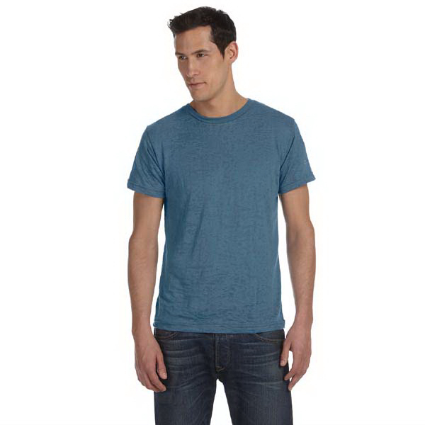 Personalized Bella & Canvas Men's Burnout Short-Sleeve T-Shirt