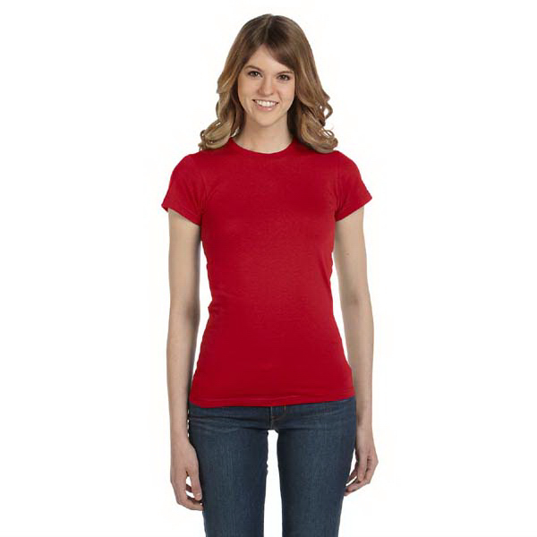 Imprinted Anvil Ladies' Junior Fit Fashion T-Shirt