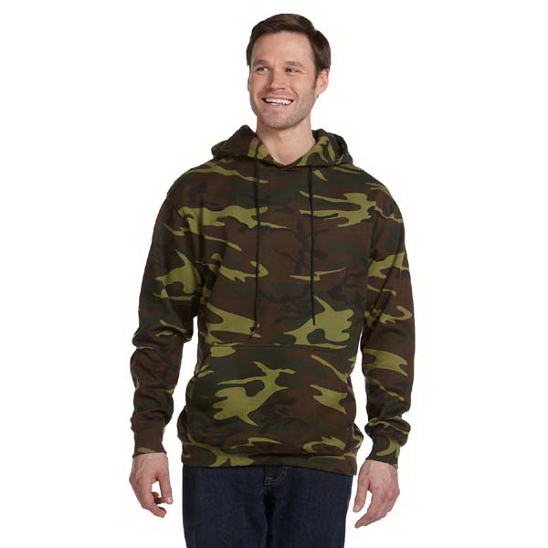 Customized Camouflage Hooded Sweatshirt