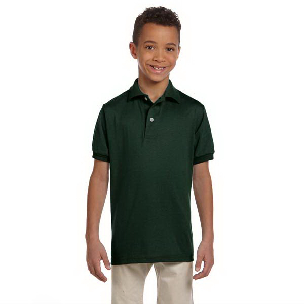 Personalized Youth 5.6 oz. 50/50 Jersey Polo with SpotShield (TM)