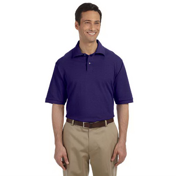 Custom Men's 6.5 oz. Cotton Pique Polo
