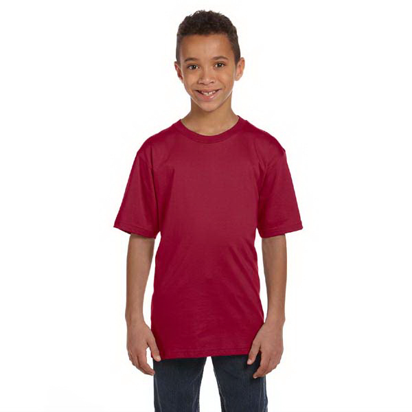Custom Youth 4.5 oz. 100% organic ringspun cotton t-shirt