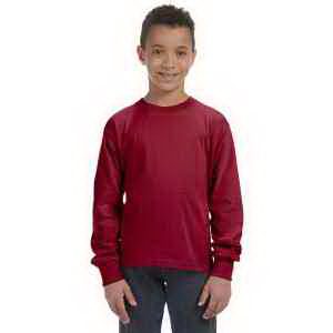 Imprinted Youth 5 oz 100% Heavy Cotton HD (TM) Long Sleeve T-Shirt