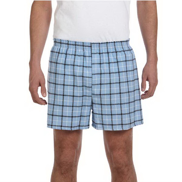 Promotional Unisex plaid flannel short
