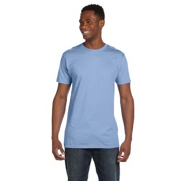 Imprinted Hanes 4.5 oz, 100% Ringspun Cotton Nano-T (R) T-Shirt