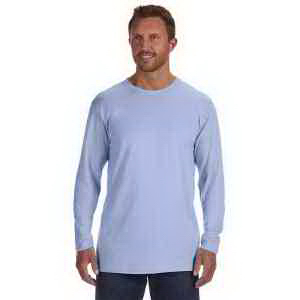 Imprinted 4.5 oz, 100% Ringspun Cotton Nano-T (R) Long-Sleeve T-Shirt