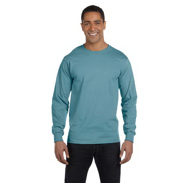 Personalized Hanes 6.1 oz Long-Sleeve Beefy-T (R)