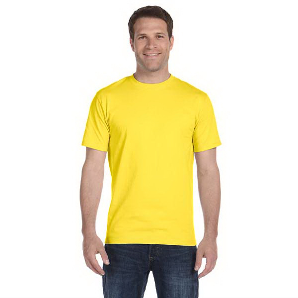 Printed Hanes 5.2 oz ComfortSoft (R) Cotton T-Shirt