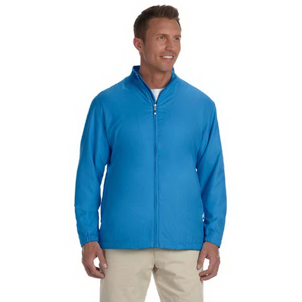 Customized Men's full-zip lined wind jacket