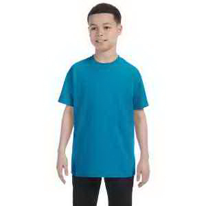 Printed Hanes Youth 6.1 oz. Tagless (R) ComfortSoft (R) T-Shirt