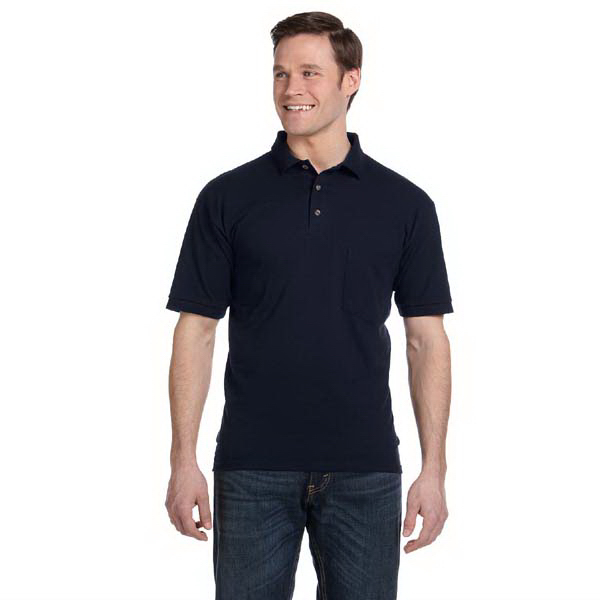Promotional 6.5 oz. Pique pocket sport shirt