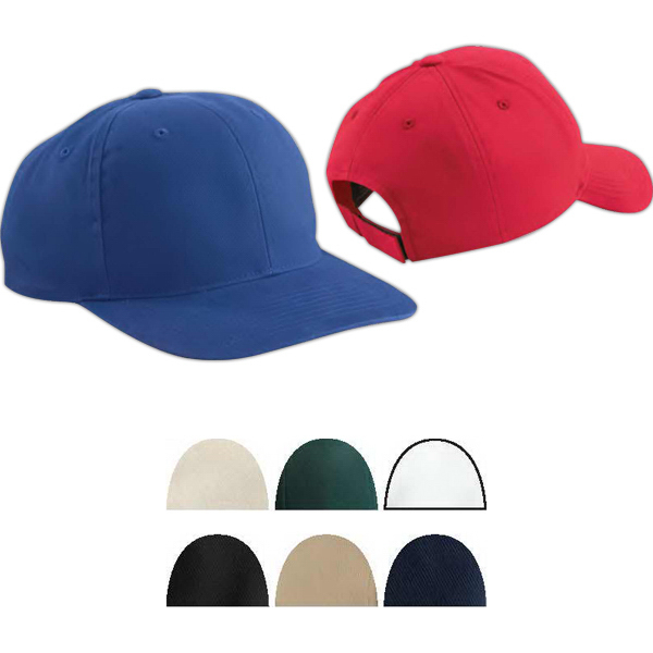 Imprinted Brushed Cotton Twill Mid Profile Cap
