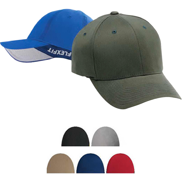 Personalized Brushed Six Panel Cap