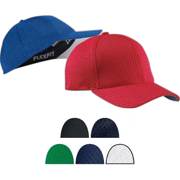 Imprinted Flexfit (R) Athletic Mesh Cap