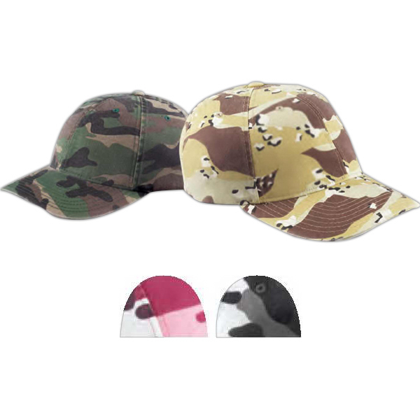 Personalized Flexfit(R) Cotton Camouflage Cap