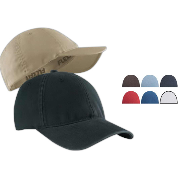 Imprinted Garment Washed Twill Cap