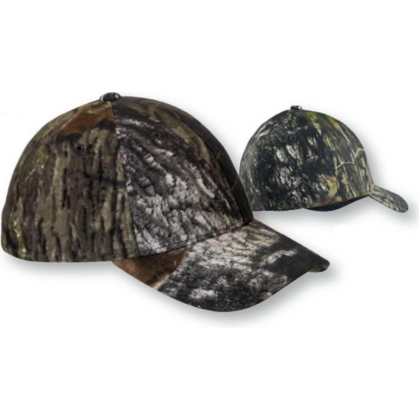 Personalized Flexfit (R) Mossy Oak (R) Break-Up Pattern Camouflage Cap