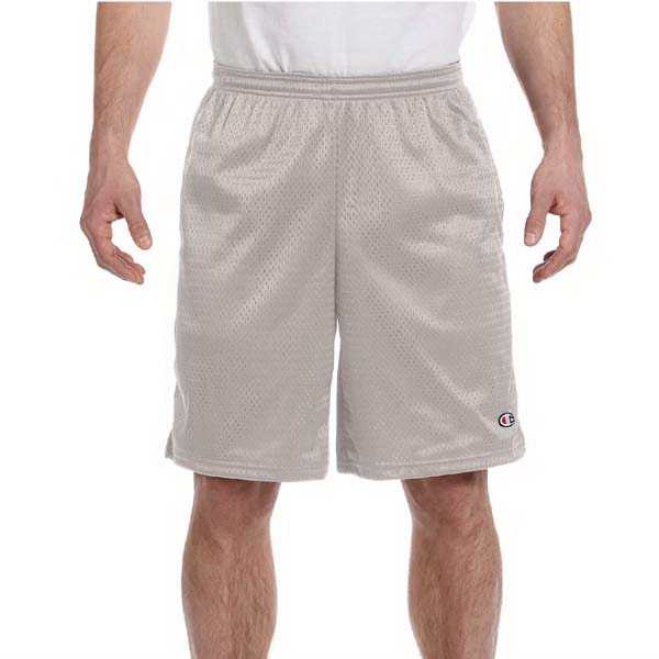 Promotional Champion Long Mesh Shorts with Pockets