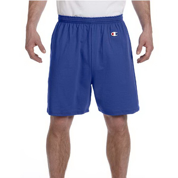 Custom Champion 6.1 oz Cotton Jersey Shorts