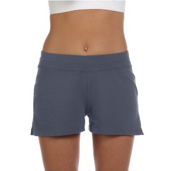 Customized Bella + Canvas Ladies' Cotton/Spandex Fitness Shorts