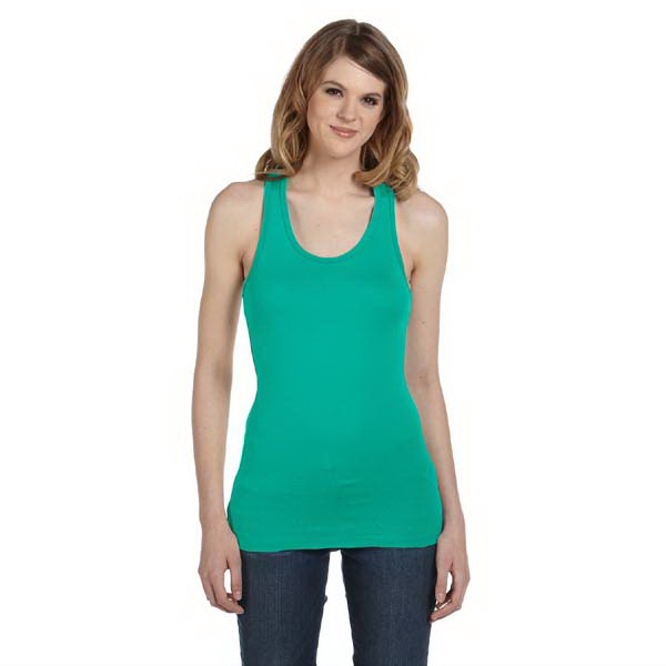 Promotional Bella & Canvas Ladies' Sheer Mini Rib Racerback Tank