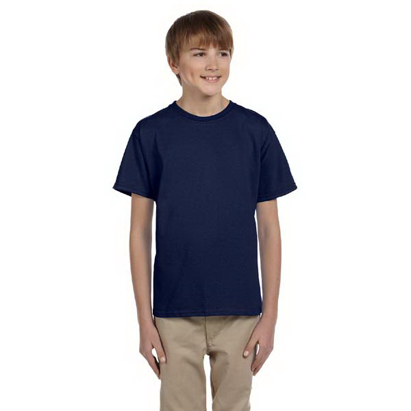 Printed Youth 6.1 oz. Basic Cotton t-shirt