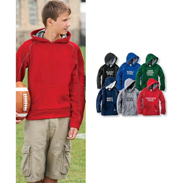 Customized Russell Athletic (R) Youth Tech Fleece Pullover Hood