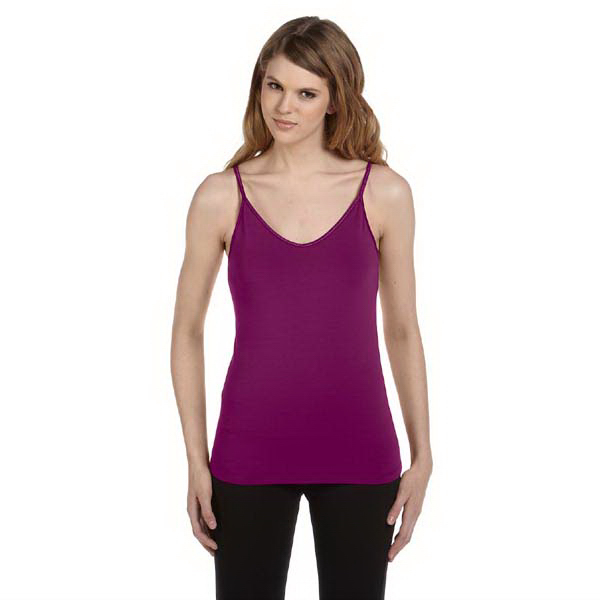 Imprinted Bella & Canvas Ladies' Cotton/Spandex Shelf Bra Tank