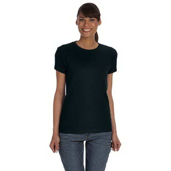Customized Ladies' 5.4 oz. Basic Cotton t-shirt