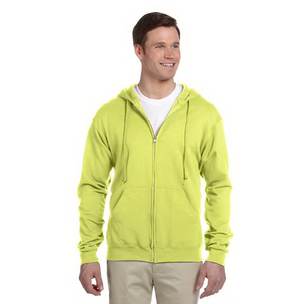 Promotional 8 oz. NuBlend (TM) 50/50 Full-Zip Hood