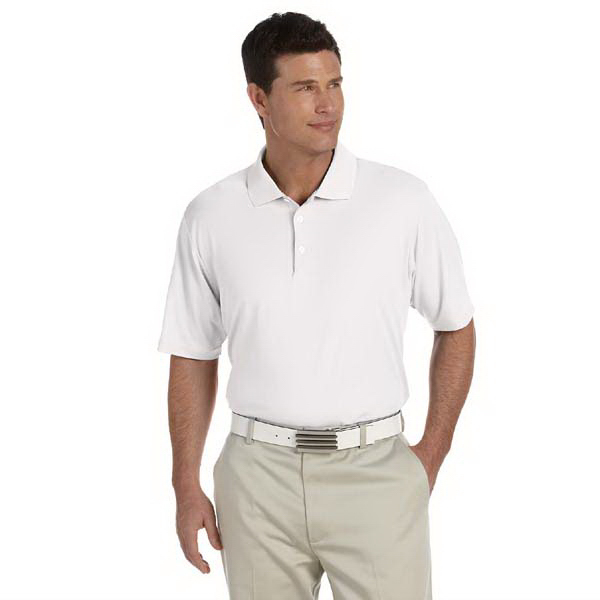 Custom Adidas Golf Men's ClimaLite (R) Short-Sleeve Pique Polo