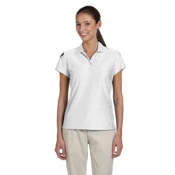 Printed Adidas Golf Ladies' ClimaCool (R) Mesh Polo