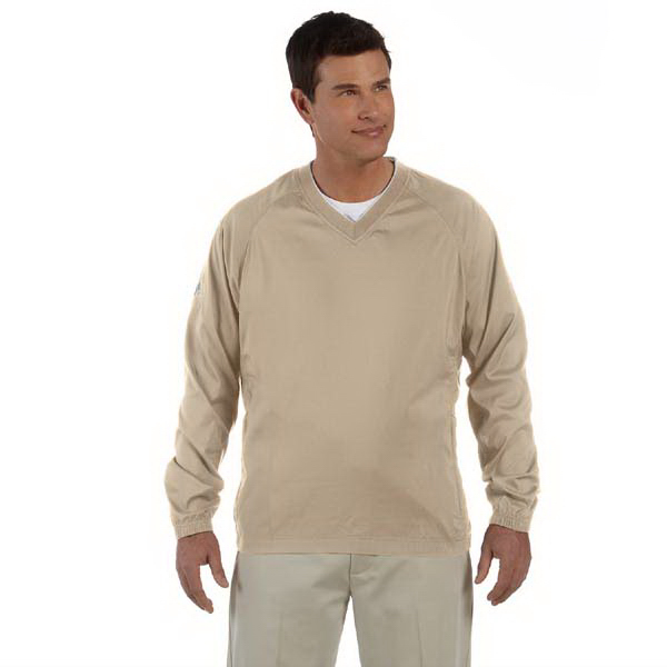 Imprinted Men's ClimaProof (R) V-Neck Wind Shirt