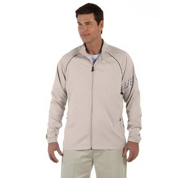 Promotional Men's ClimaProof (R) 3-Stripes Full Zip Jacket