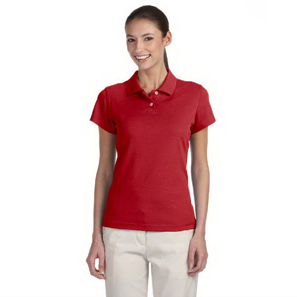 Imprinted Ladie's ClimaLite (R) Tour Pique Short Sleeve Polo