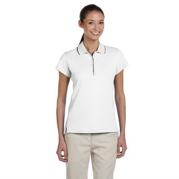 Printed Ladies' ClimaLite (R) Tour Jersey Short Sleeve Polo