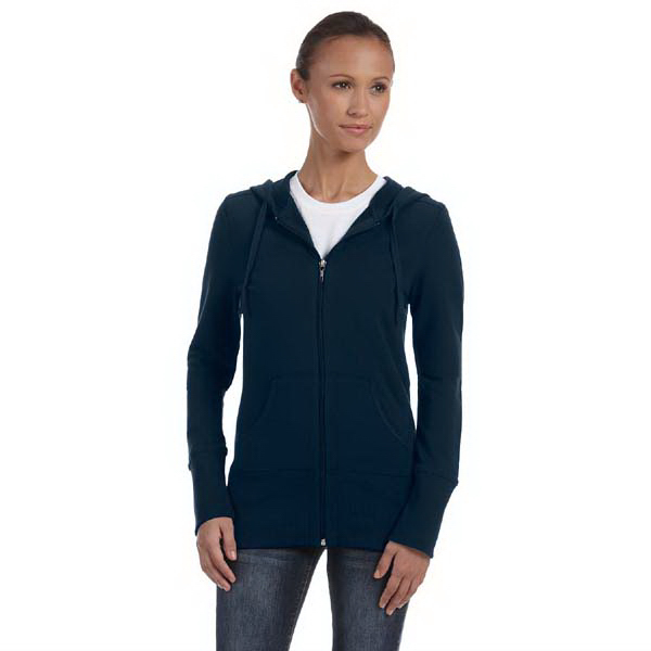 Imprinted Bella & Canvas Ladies' Stretch French Terry Lounge Jacket
