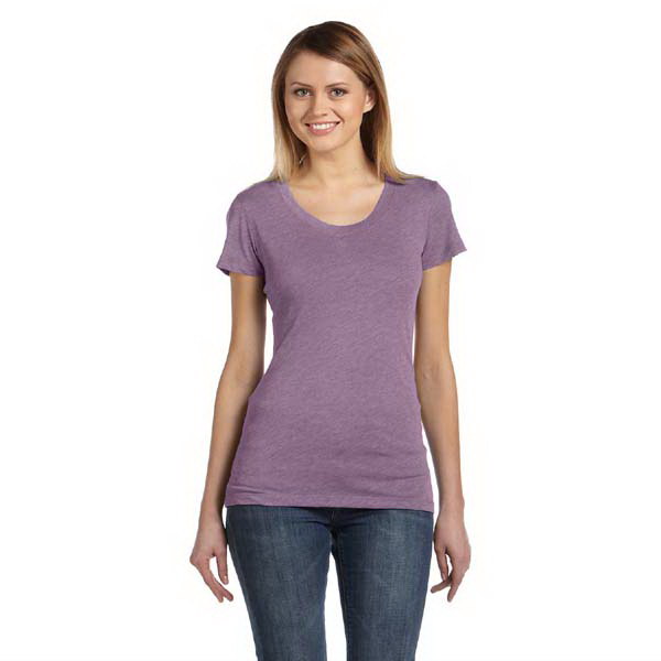 Personalized Bella & Canvas Ladies' Triblend Short Sleeve T-Shirt