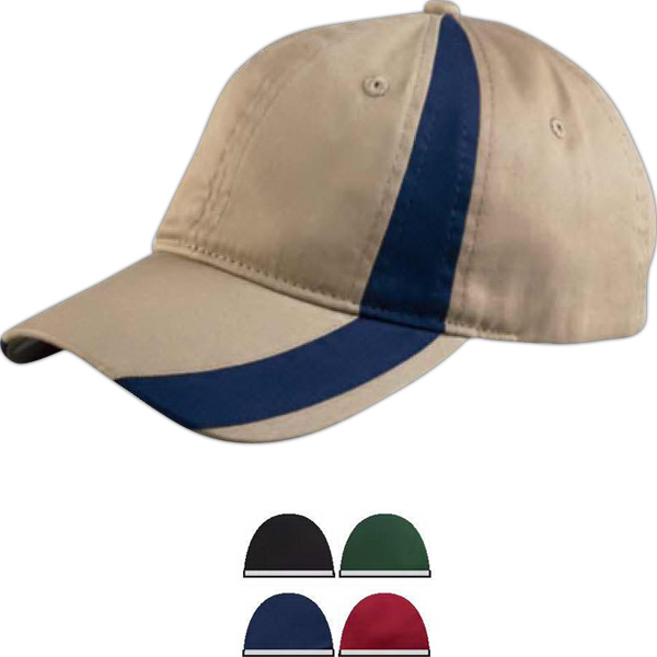Imprinted Colorblock sport cap