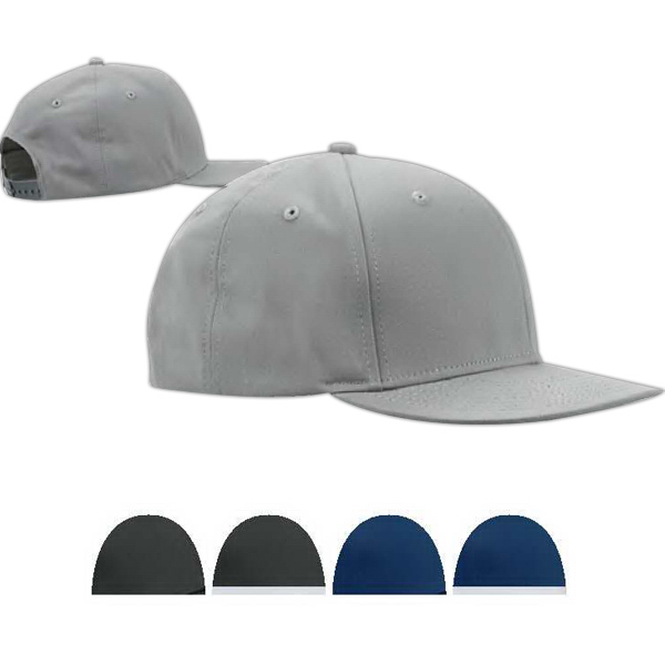 Personalized Big Accessories Flat Bill Cap