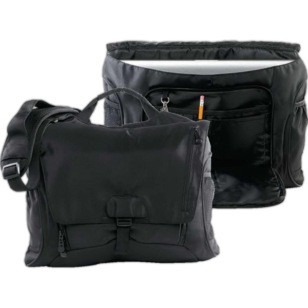 Promotional BAGedge Unisex Messenger Tech Bag