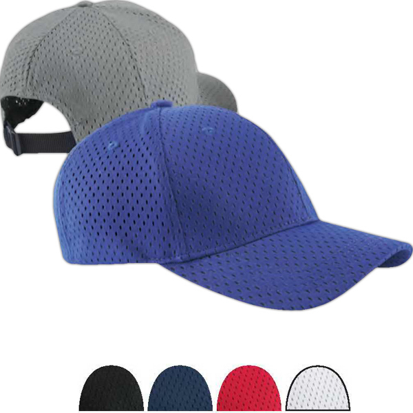 Personalized Six Panel Structured Mesh Baseball Cap