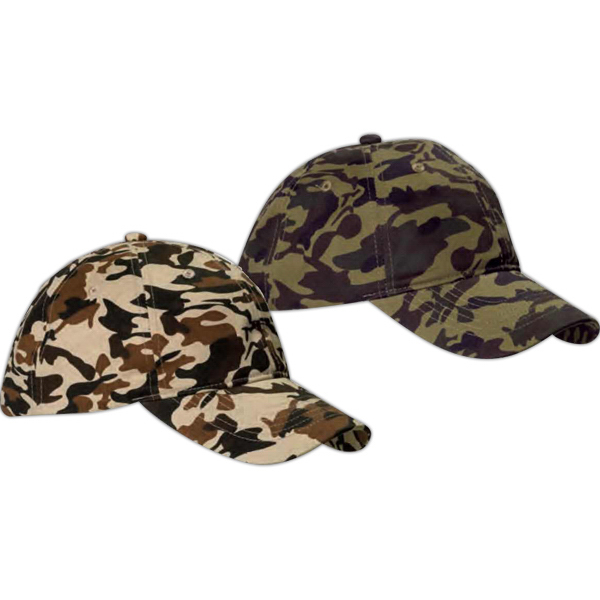 Custom Unstructured Camouflage Hat