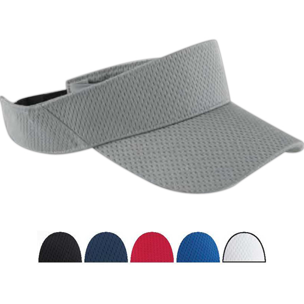 Imprinted Sport Visor with Mesh