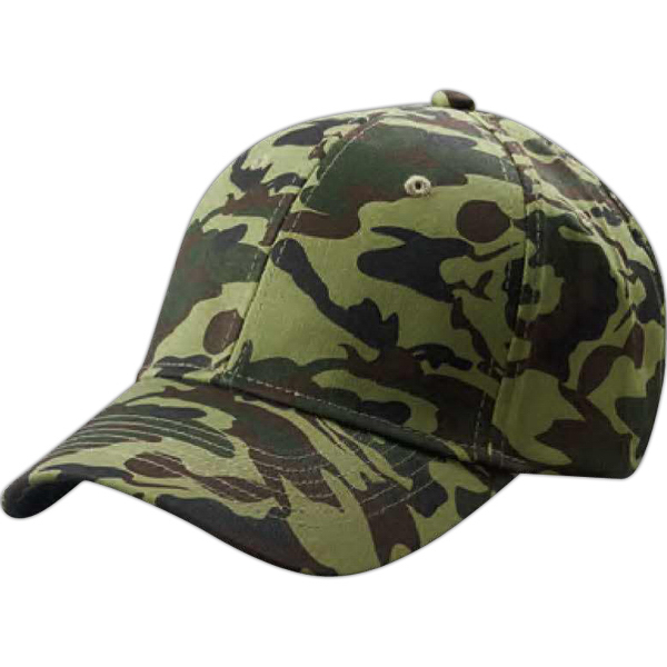 Promotional Big Accesories Structured Camo Hat